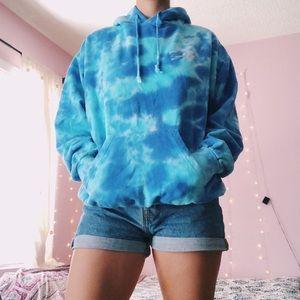Oversized Tie-dye hoodie